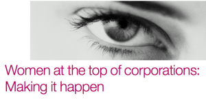Rapport McKinsey - Women matter 2010 - Women at the top of Corporations: Making it happen
