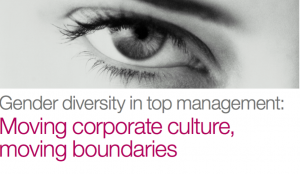 Rapport McKinsey - Women matter 2013 - Gender diversity in Top Management